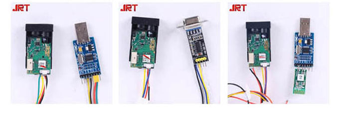 JRT M88B 60m Range Laser Measurement Solutions Laser Distance Sensor RS232 / RS485